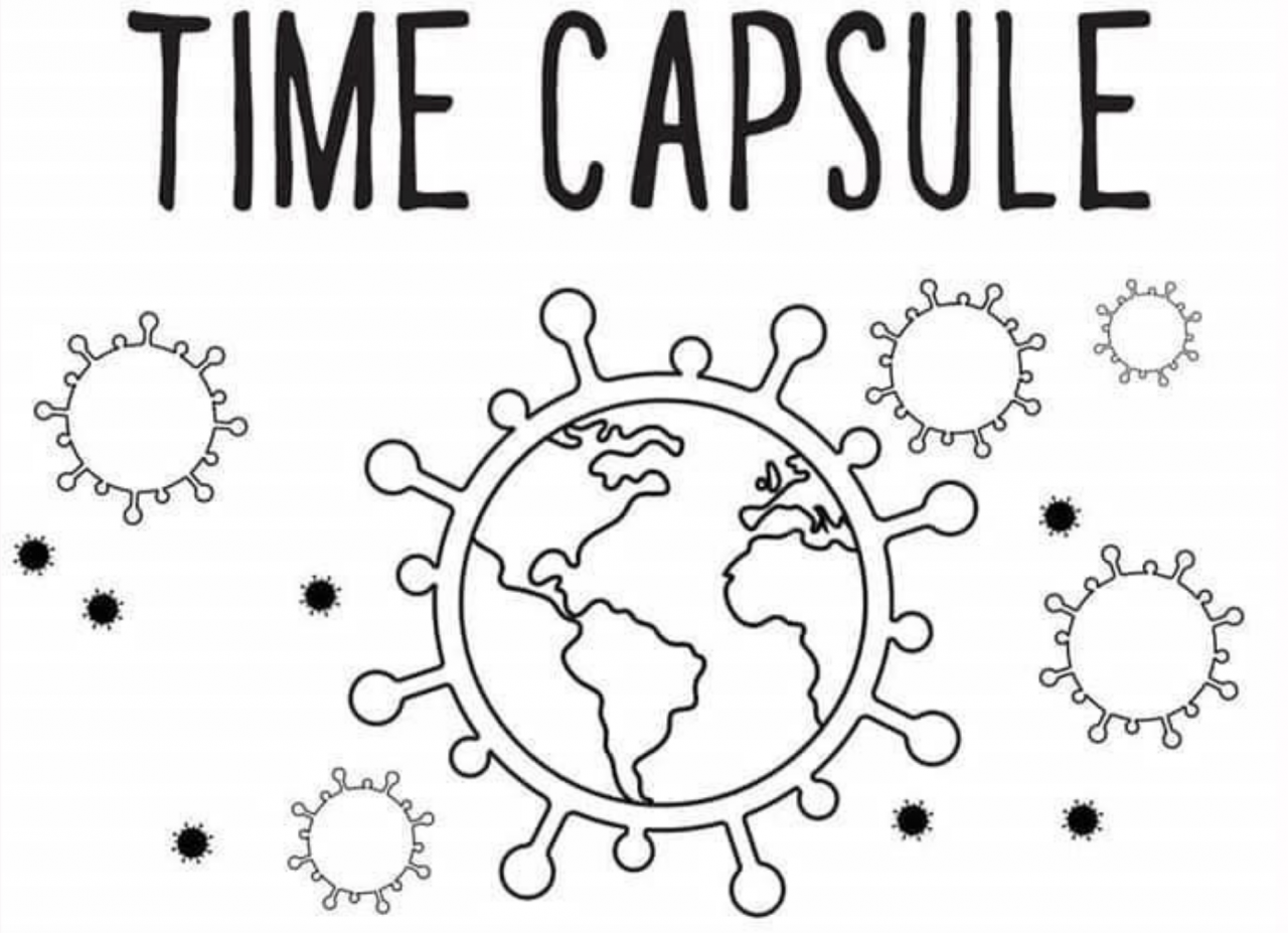 Time Capsule Coloring Book